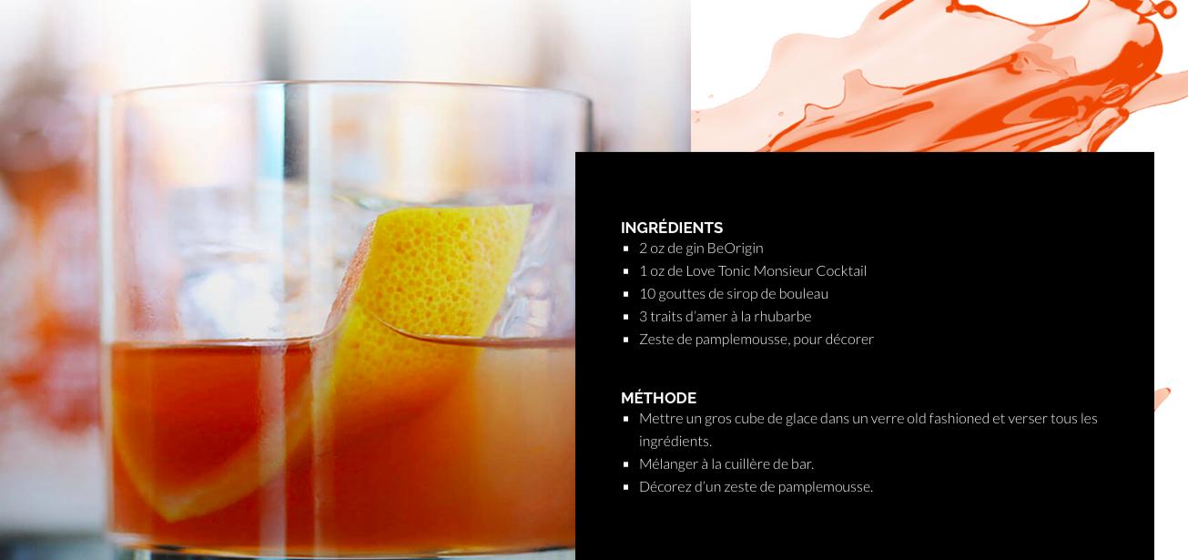 3 d licieux cocktails essayer avec le nouveau gin for Cocktail quebecois